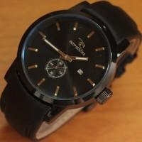 Jam Tangan Ripcurl Detroit Date Black Leather Kw Super