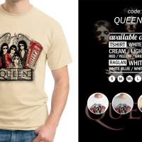 Kaos / T-Shirt Legendary Band Type Queen 02