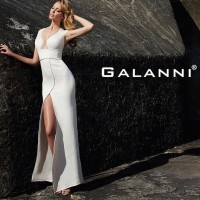 Galanni ivory dress