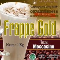 Es Blender Bubuk Cappucino Rasa Moccacino Merek Frappe Gold