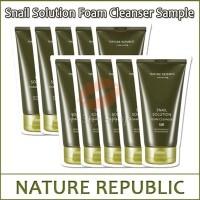 Nature Republic Snail Solution Foam Cleanser
