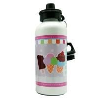 Botol Minum Alumunium Gambar Ice Cream Bisa Custom by Char & Coll