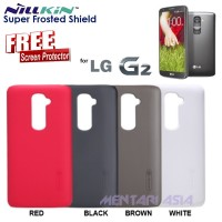 Case LG G2 D802 : Hardcase NILLKIN Super Frosted + FREE SP