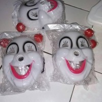 Topeng/Mask Clown/ Comic 8/ Badut PVC