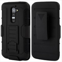 LG G2 Bumper Armor Dual Layer Full Protection Case