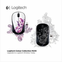 Energy Saving Optical Wireless Mouse Ergonomis Logitech