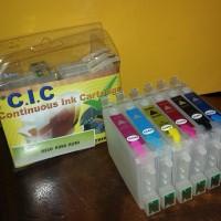 Cartridge tinta isi ulang refillable epson R230 210 350