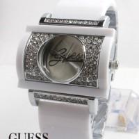 Guess Bangle W200 (Putih Silver)