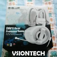 E-Blue Cobra White Stereo Gaming Headset