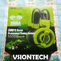 E-Blue Cobra Green Stereo Gaming Headset
