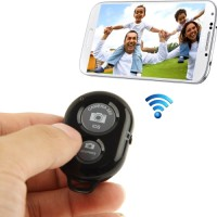 Tomsis Bluetooth Remote Shutter Tongsis for Android iOS