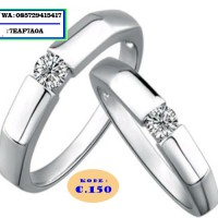cincin kawin nikah tunangan dan couple no 150