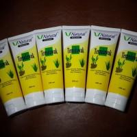 Jual CLEANSER TEMULAWAK V Natural Pembersih Wajah /Sabun Cuci Muka ORIGINAL Murah