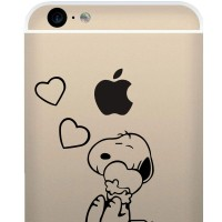 Tokomonster Decal Sticker Snoopy in Love New Iphone