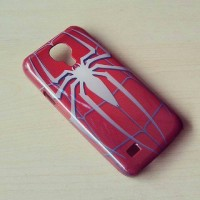 Spiderman Logo Samsung Galaxy S4 Mini Cover Hard Case