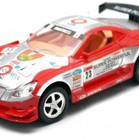 Mobil Remote Control Strong Mightiness Merah Silver
