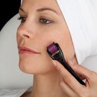 derma roller skin face massager alat pijat setrika wajah dermawand