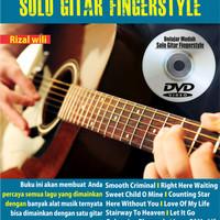 Belajar Mudah solo Gitar Fingerstyle (Buku + DVD Video)