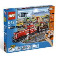 LEGO 3677 City Red Cargo Train