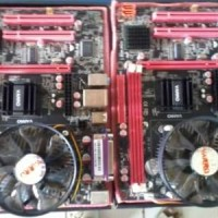 PAKET MOTHERBOARD G41 DDR3 + PROC CORE 2 DUO 3.0 + FAN