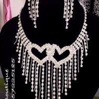 Love pattern set necklace