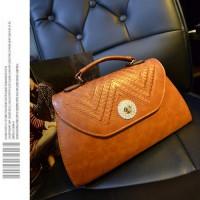 tas coklat camel selempang pesta jalan mini brown perempuan kulit mall