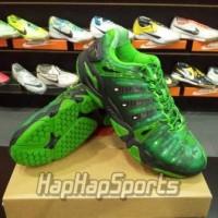 Sepatu Badminton Lining Hero II Original - Hijau