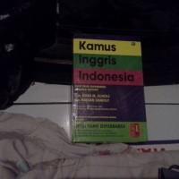 kamus inggris - indo versi john m. echols