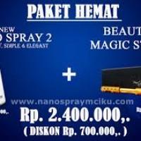 Paket Nano Spray MCI 2 + Magic Stick