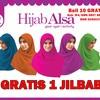 Hijab Alsa Jilbab Segi Empat Bolak Balik 2 Warna Jilbab Syar'i Terbaru