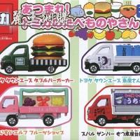 Giftset Food Shop Truck Car Vehicle Set Tomica Takara tomy