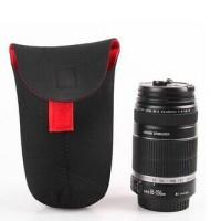 Neoprane DSLR Lens Pouch Caden (Sarung Pelindung L