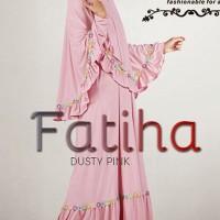 Gamis Ayyanameena Fatiha - Dusty Pink