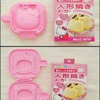 Hello Kitty MICROWAVE PANCAKE Bread Toast Maker Mold Cetakan Kue Roti