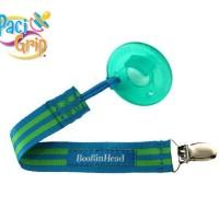 Tali Empeng BooginHead PaciGrip (Blue/Green Stripe)