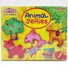 FUN DOH Animal Series / FUNDOH mainan lilin cetakan binatang