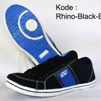 Sepatu Rhino Black Blue