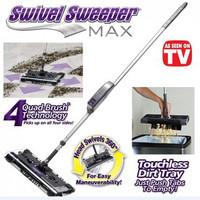 Swivel Sweeper / vacuum cleaner sapu kain lap pembersih rumah