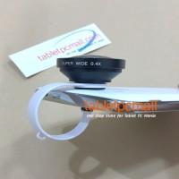 Jual Lensa SUPER WIDE 0.4x CLIP Universal pasangan tongsis Murah