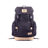 Tas Ransel GET Bromo Black Waterproof Backpaker and Traveler Bag