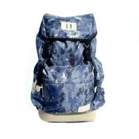 Tas Ransel GET Bromo Camo Pixel Waterproof Backpaker & Traveler Bag