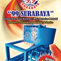 Mesin Mixer Pengaduk Bahan Batako