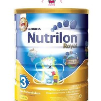 Susu Bayi Nutrilon Royal 3 rasa Vanila 800 gr (1 - 3 tahun) Kaleng/Tin