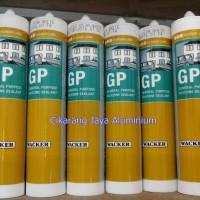 sealant / lem kaca / silicone / GP wacker 280ml