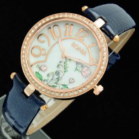 Jam tangan wanita bonia kulit mawar K597