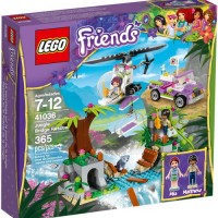 Toys LEGO Friends Jungle Bridge Rescue 41036