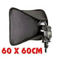softbox easy set 60x60cm+Braket+tas