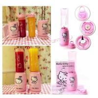 blender juicer shake n take botol minum karakter hello kitty HK
