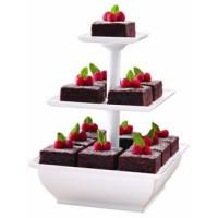 Snack Server ( Etalase Kue 3 Tingkat )