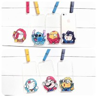 Chibi Toon Ultra Thin Soft Case For iPhone 4/4s, 5/5s & 6